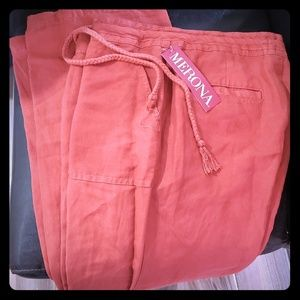NWT Merona linen pants